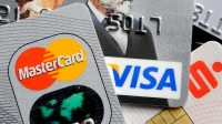 Credit cards on each other visa and mastercard